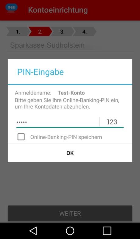 App Einrichten Android