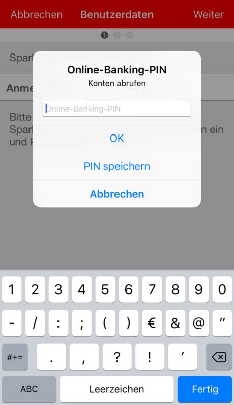 App Einrichten Ios
