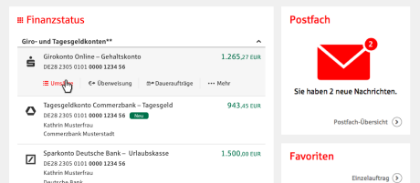 Multibanking Sparkasse Sudholstein