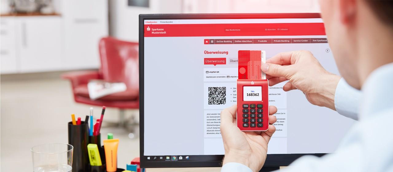 Online Banking Mit Chiptan Sparkasse Sudholstein